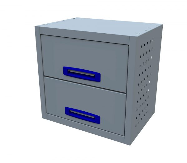 2 Drawer (0.5m Drawer Unit)