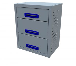 3 Drawer (0.5m Drawer Unit)
