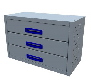 3 Drawer (0.75m Drawer Unit)