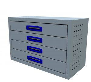 4 Drawer (0.75m Drawer Unit)