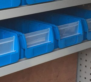 Large Plastic Bin - Box of 10pcs
