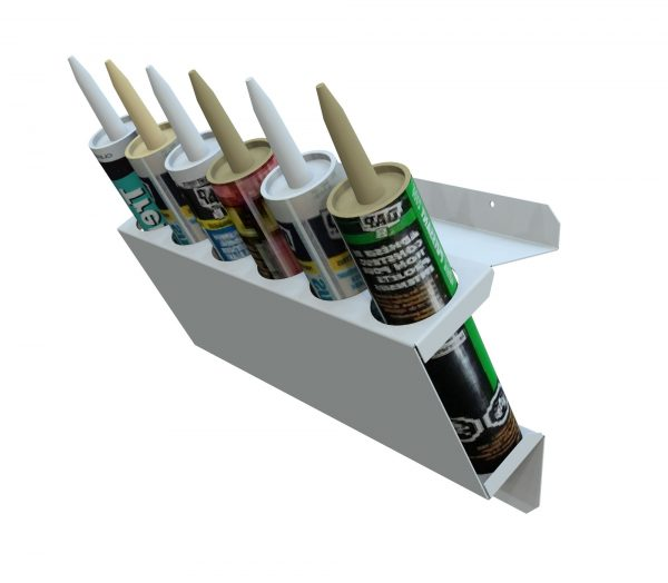 Silicone & Mastic Tube Holder (6 Capacity)