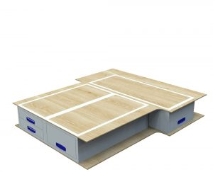 Small Van False Floor Drawers L1 No.2